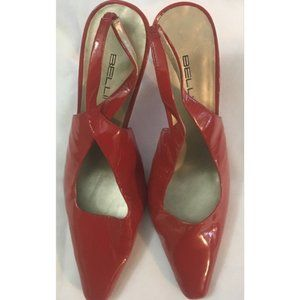 Bellini Red Patent Leather Heels 13